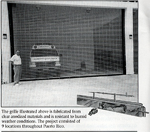Rolling Grilles - Steelcraft Folding Gate Corp.
